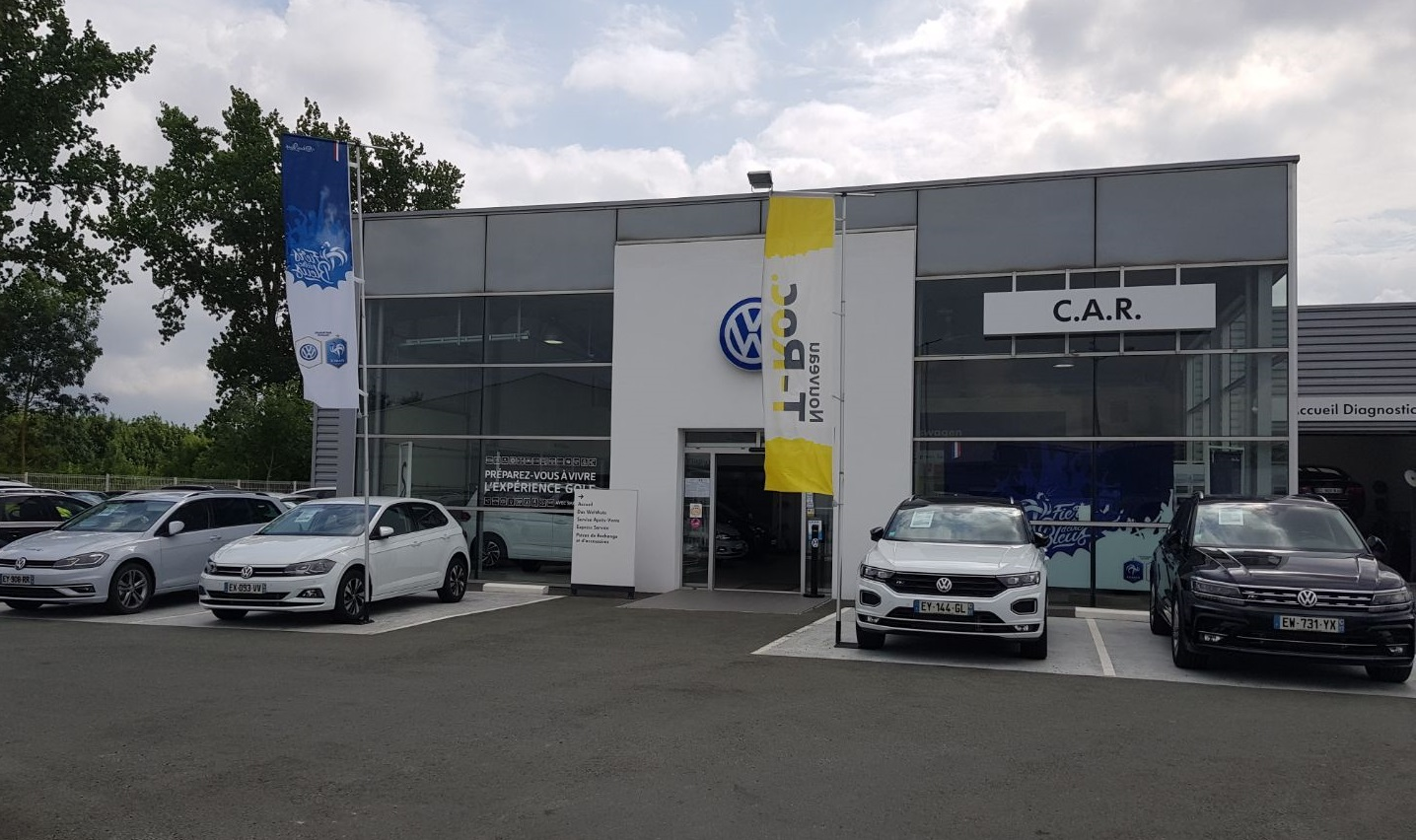 C.A.R. Tonnay-Charente (Rochefort) garage Volkswagen  17