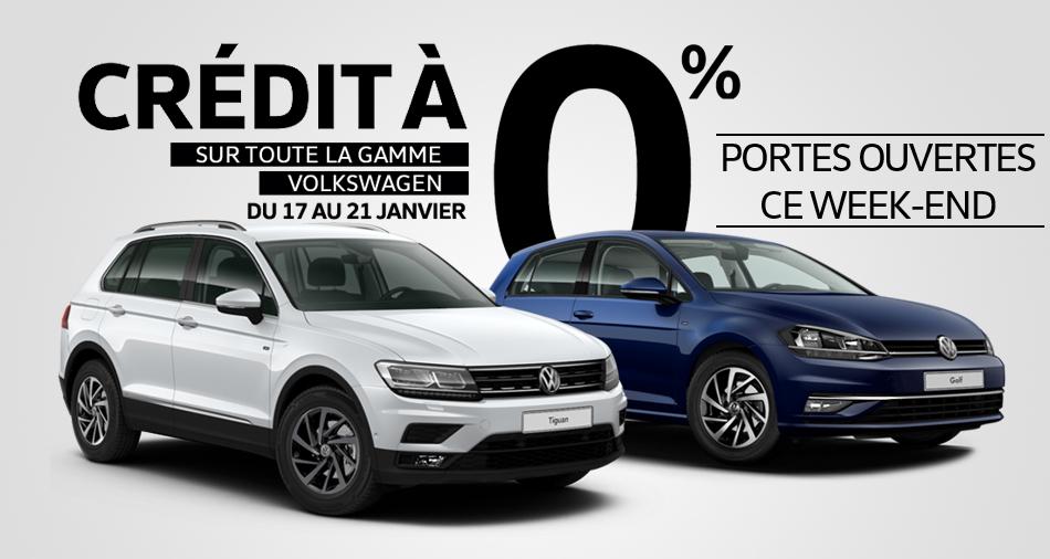 Crédit Zéro Volkswagen