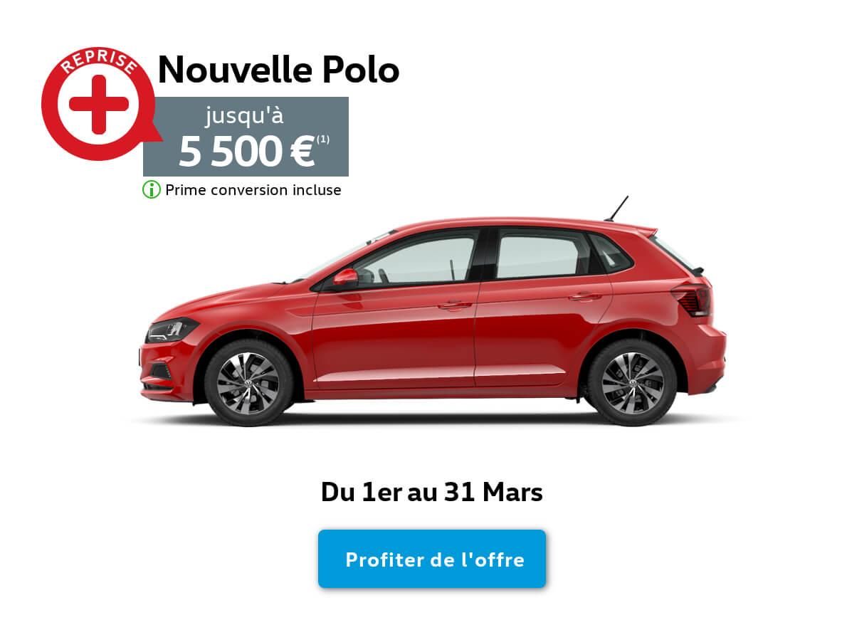 Offre Reprise Prime Conversion Polo 2019