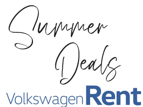 Volkswagen Rent : profitez des offres d'été