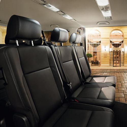illustration confort Volkswagen Caravelle
