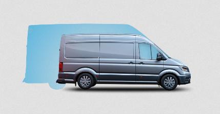illustration efficacite Volkswagen Crafter