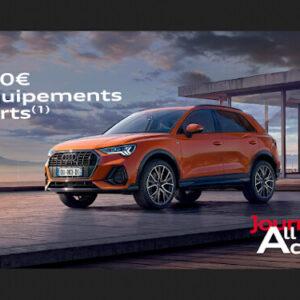 Audi  La Rochelle : 2500€ d'équipements offerts chez Audi