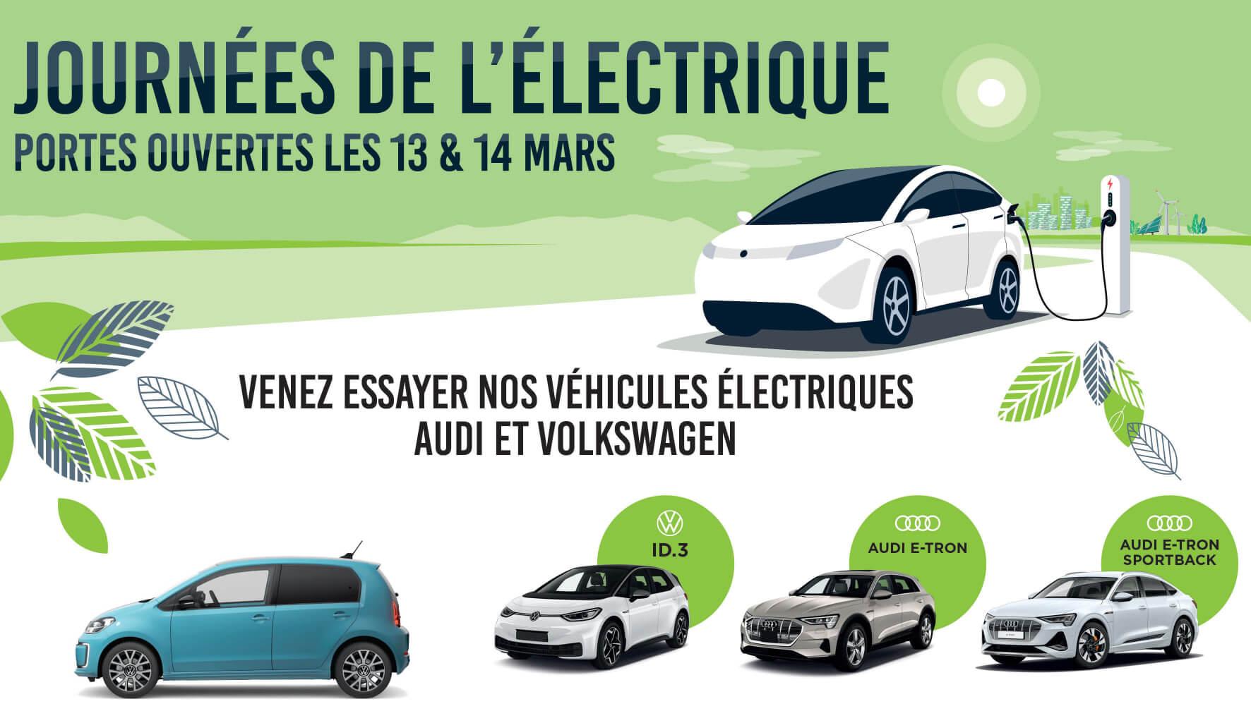 Portes Ouvertes Volkswagen - Les Journées de l'Electrique