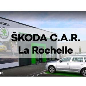 Skoda  Saintes : Nouvelle concession C.A.R. Skoda à La Rochelle