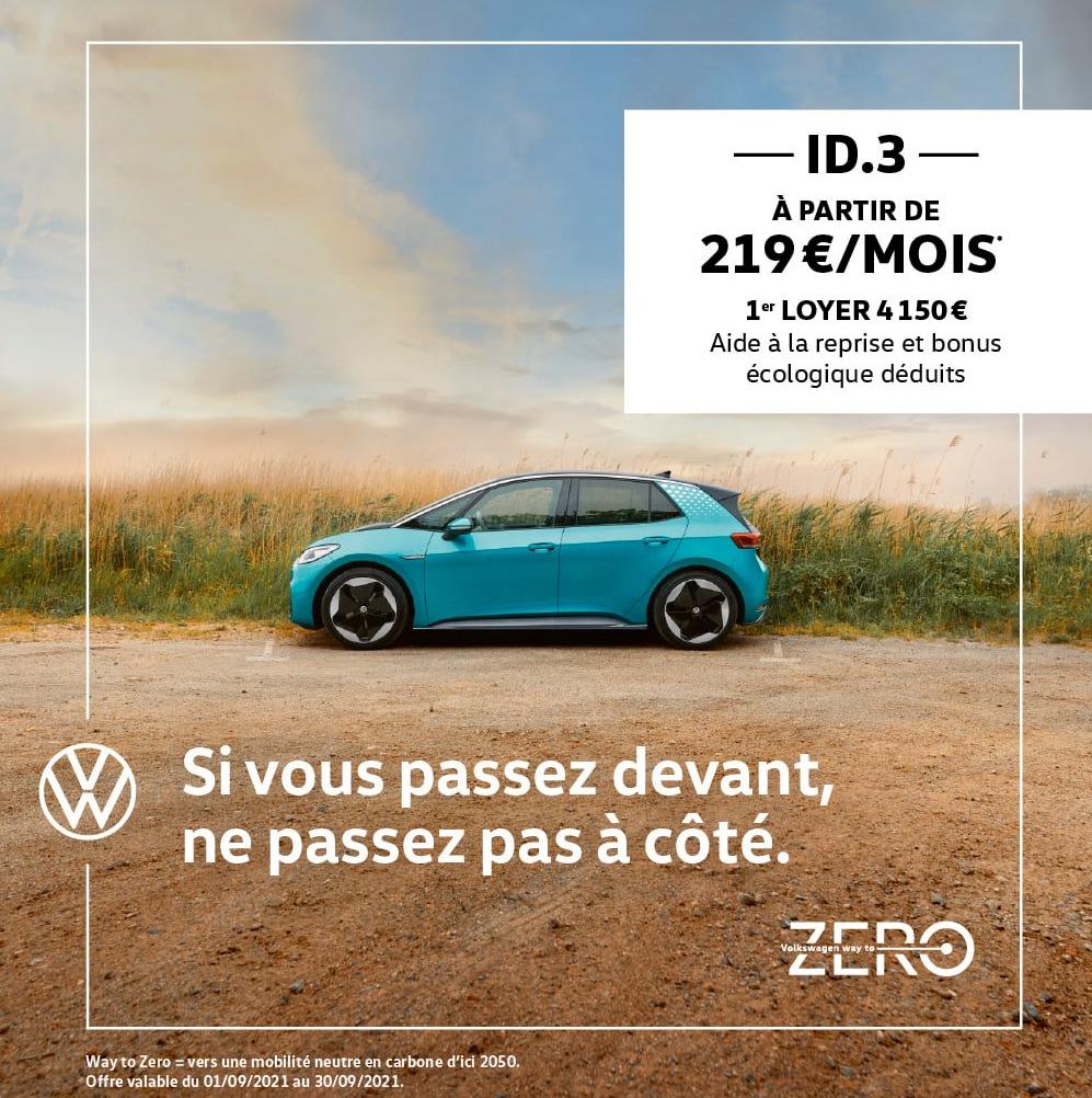 Nouvelle Volkswagen ID.3