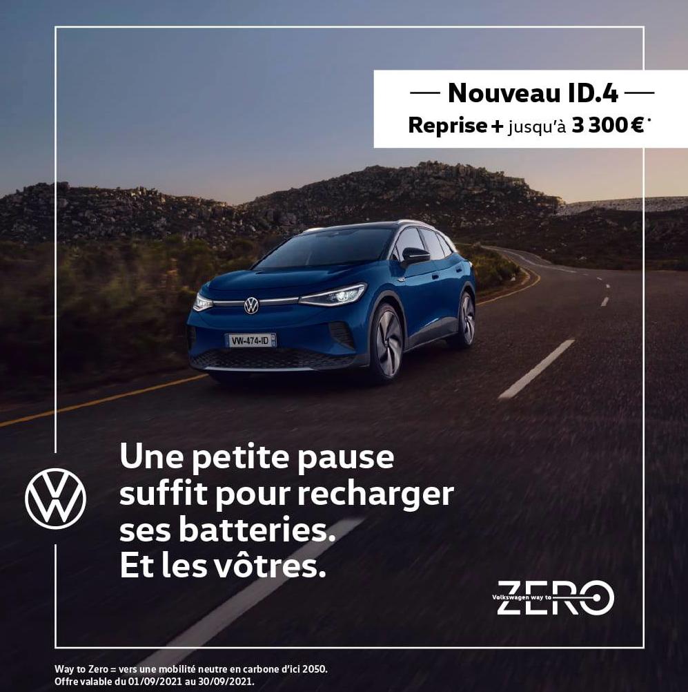 Nouveau SUV Volkswagen ID.4